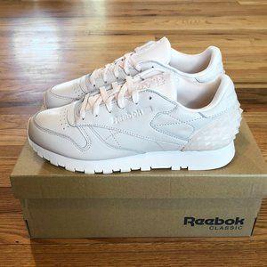 NEW Reebok Classic Leather heel clip sneakers